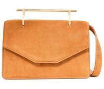 Indre Suede Shoulder Bag Orange Size --