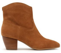 Woman Avery Suede Ankle Boots Tan