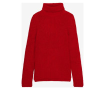 Erwan Oversized Alpaca-blend Turtleneck Sweater Red