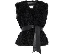 Sheela Belted Wool Vest