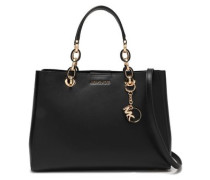 Woman Leather Tote Black