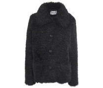 Woman Noemie Faux Shearling Coat Black
