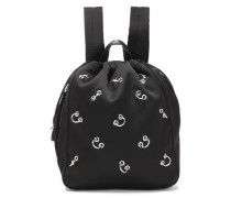 Go-Go ring-embellished shell backpack