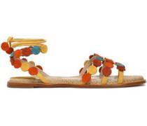 Antibes color-block suede sandals
