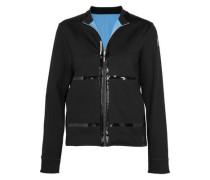 Reversible stretch-jersey jacket