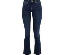 High-rise Bootcut Jeans Dark Denim  8
