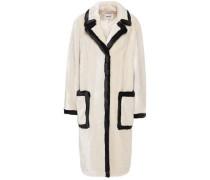 Woman Chantal Faux Fur Coat Ecru