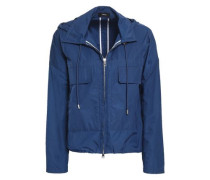 Shell Hooded Jacket Blue