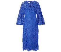 Guipure Lace Dress Blue