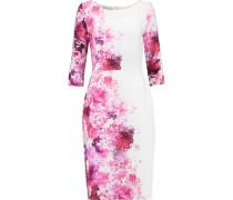 Venus floral-print crepe dress