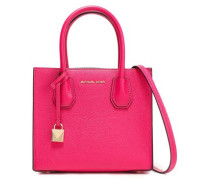 Pebbled-leather Shoulder Bag Fuchsia Size --