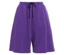 Woman French Cotton-terry Shorts Violet