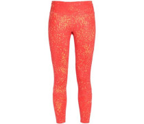 How We Do Tight printed stretch-jersey leggings