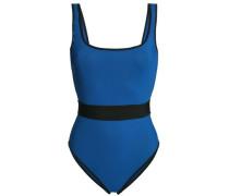 Two-tone Swimsuit Cobalt Blue