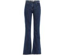 Scorpio High-rise Flared Jeans Mid Denim  4