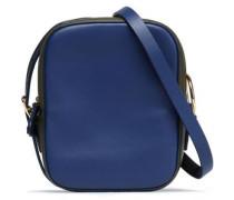 Mini two-tone shoulder bag