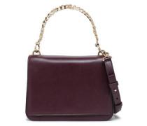 Charm Swag Leather Shoulder Bag Grape Size --