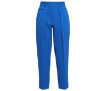 Crepe Tapered Pants Cobalt Blue