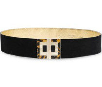 Suede Belt Black  0