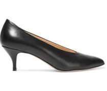 Felicity Leather Pumps Black