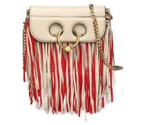 Pierce fringed leather shoulder bag