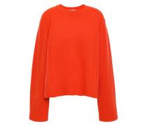 Wool-blend Sweater Bright Orange