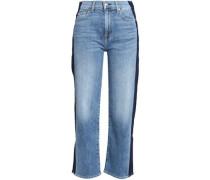 Straight Leg Jeans Light Denim  8