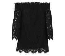 Brody off-the-shoulder corded lace top