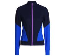Paneled stretch jacket