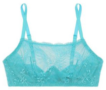 Trenta Lace Underwired Bra Teal   B