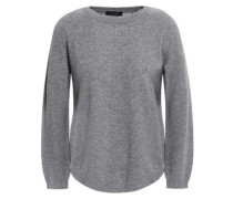 Mélange Wool And Cashmere-blend Sweater Light Gray