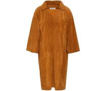 Suede Dress Camel