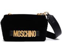 Velvet Shoulder Bag Black Size --