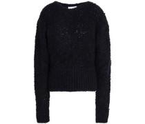 Jilko bouclé-knit sweater