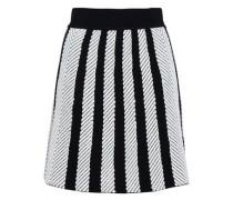 Jasper Striped Jacquard-knit Mini Skirt Ivory Size 1