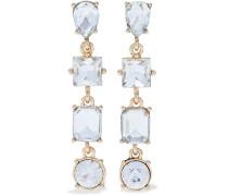 22-karat -plated Crystal Earrings