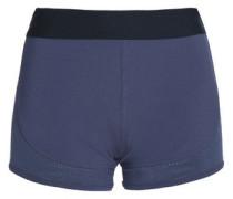 Mesh-trimmed Stretch Shorts Dark Gray