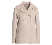 Brushed-cashmere coat