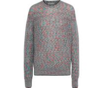 Mélange Mohair-blend Sweater Multicolor
