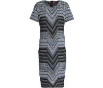 Jacquard-knit maxi dress