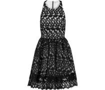 Mariel guipure lace mini dress