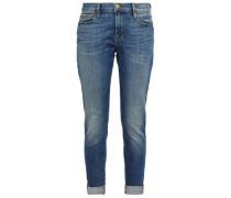 Faded Boyfriend Jeans Mid Denim  7