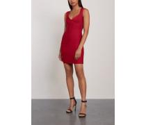 Sarai Cutout Bandage Mini Dress Crimson