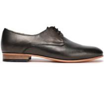 Leather Brogues Gunmetal