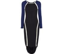 Freje Color-block Stretch-jersey Dress Black
