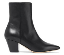 Laurina Leather Ankle Boots Black