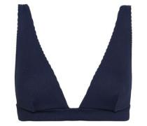 Ribbed Bikini Top Navy Size 0 A