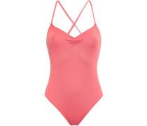 Sasha Ruched Swimsuit Coral