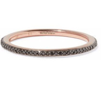 Skinny Eternity 18-karat rose gold vermeil diamond ring