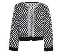 Jacquard-knit jacket